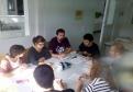 Reunió de l'equip de govern de l'Ajuntament de Celrà, el 12 d'octubre passat