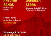 Baños Serra Gonzàlez 020717 CUP Sant Celoni